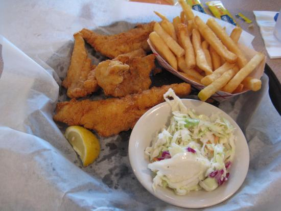 Anna Maria Oyster Bar - Cortez : The all-you-can-eat Monday night fish fry.