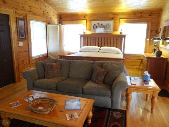 """Candler, NC: """"Cherokee Cabin"""" Interior"""