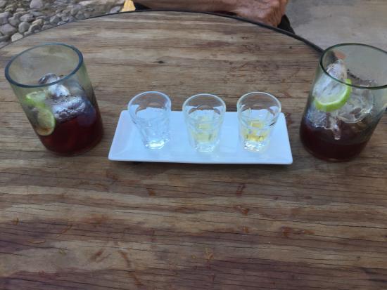 Hotel Cielo Rojo: Tequila tasting
