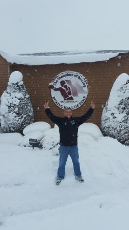Canastota, Nowy Jork: mucha nieve si no queres sentir frio viaja en verano