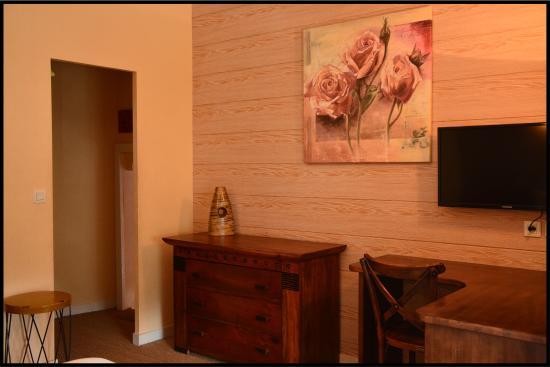 Hotel La Closerie: chambre familiale