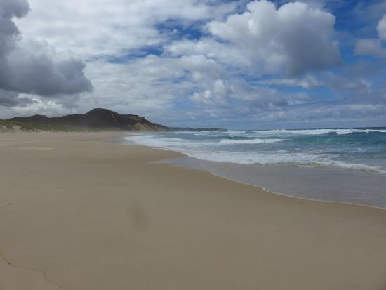 Walpole, Australia: The beach all to ourselves.