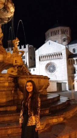 Hotel Venezia: Meu quarto ficava de frente pra essa linda fontana.