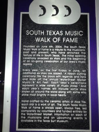 South Texas Music Walk Of Fame Corpus Christi 2019 All