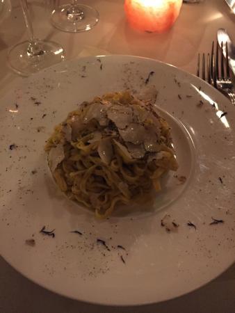 La Bucaccia : Tagliolini al tartufo