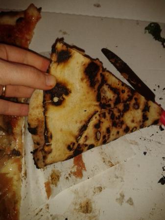 Sarracino: Burned pizza