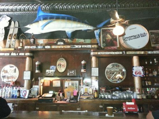 Sportsmans Club: Historic Bar