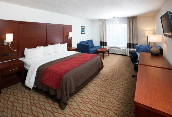 Red Lion Inn and Suites Auburn: Junior Suite
