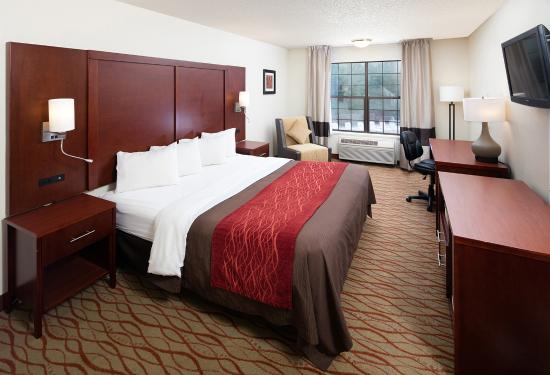 Red Lion Inn and Suites Auburn: King Guest Room