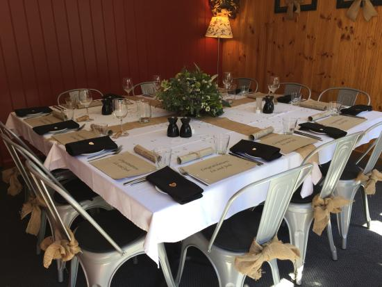 Black Bear Inn: Private Dining Room for all Occasions