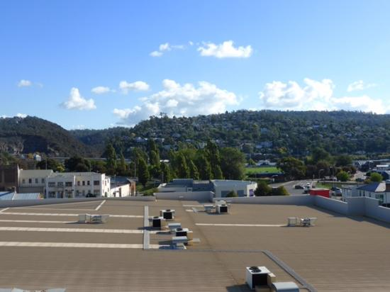 The Sebel Launceston: view from 4 bedroom penthouse