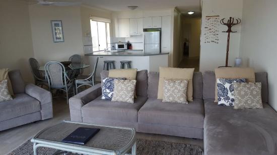 Pandanus Shores: Living area