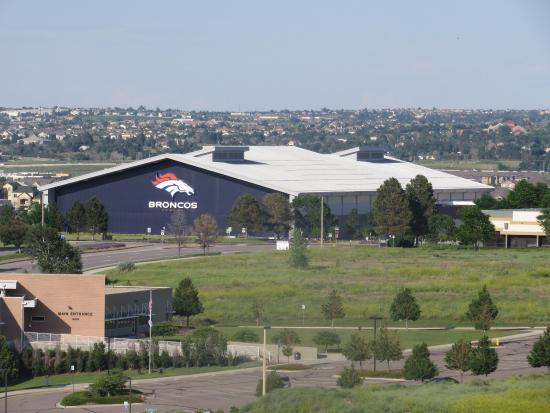 Englewood, CO: Denver Broncos practice facility and not as close as it appears here.