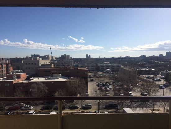 Warwick Denver Hotel: Not the best view from our room but amazing otherwise!
