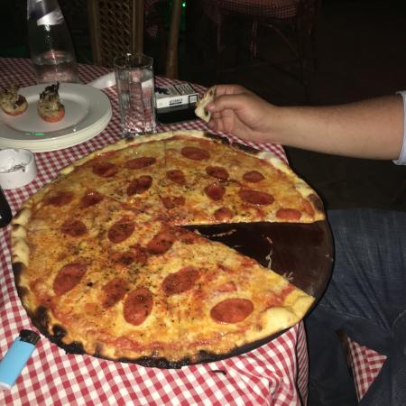 Mamma Mia : the sandra pizza