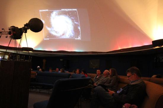 Von Braun Astronomical Society: In the planetarium.