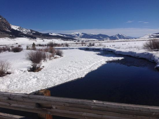 Crested Butte Nordic Center: The Rec Path area