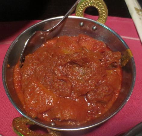 Ravintola Shalimar : Mutton Vindaloo