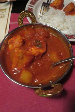 Ravintola Shalimar : Chicken Vindaloo