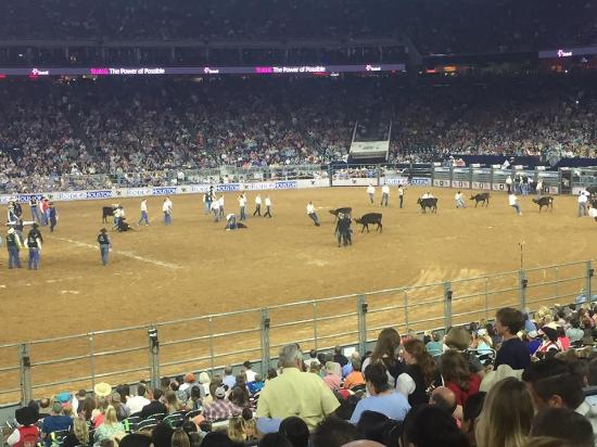houston livestock show and rodeo seats barrel racing picture of rodeo houston or houston livestock