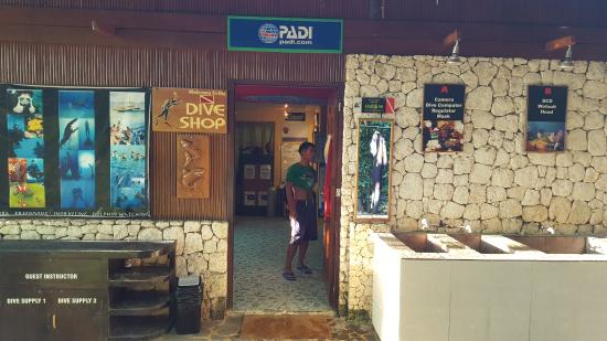 Club Serena Dive Shop : Dive center