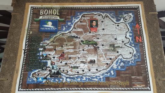 Dumaluan Beach Resort: Map