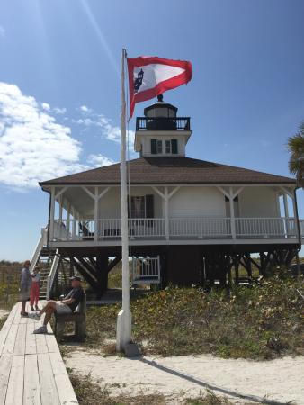 Gasparilla Island State Park: Lighthouse on Gaspirilla Island