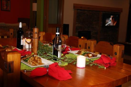 Coatesville, Nieuw-Zeeland: Dinners can be arranged to suit your requirements
