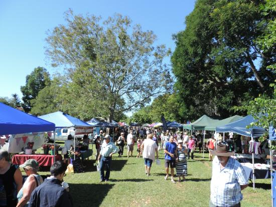 Yungaburra, Australien: 27/02/16 at 09:27 with perfect weather and a good crowd