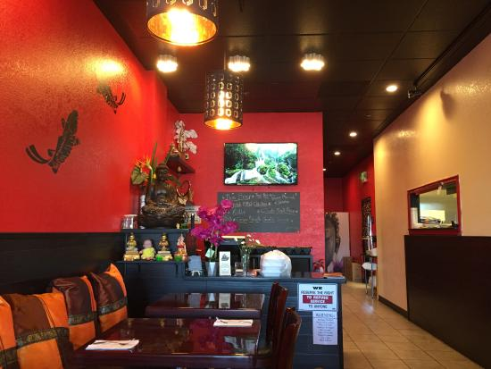 Ripon, Californië: My Thai Cuisine Interior