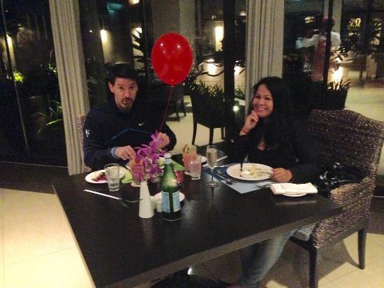 Crescendo Birthday Dinner For My Husband