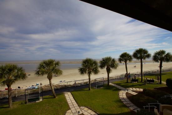 The King and Prince Beach and Golf Resort: View from our second floor room