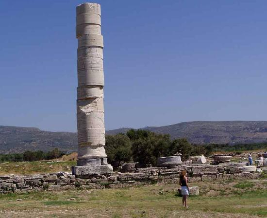 Temple of Hera, Ireon, Samos for history and nature lovers.