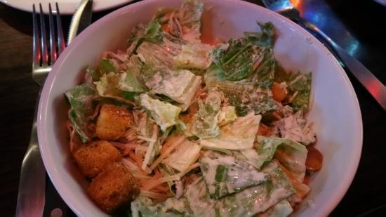 Texas Land & Cattle Steakhouse on the Riverwalk: Caesar salad