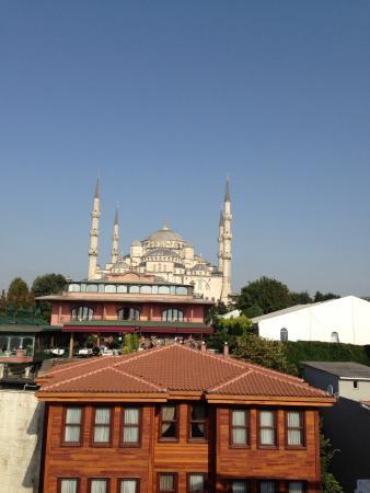 Mevlana Hotel: Вид с террасы