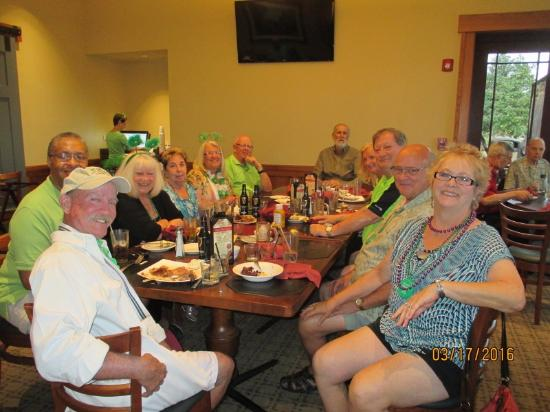 Stone Creek Golf Club : 12 great friends from OTOW (On Top of The World) 'Irish' for the day