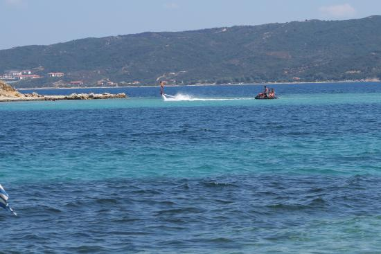 Ammouliani, Greece: Drenia island. Flyboarding Equipment