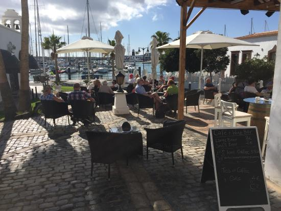 Terrace Picture Of Cafe Terraza Playa Blanca Tripadvisor