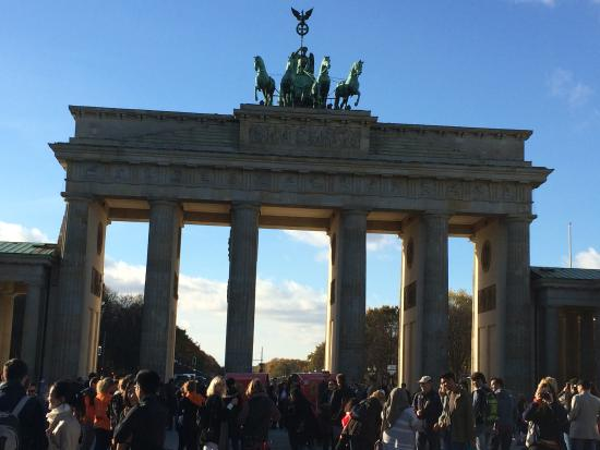 Бранденбургские ворота brandenburg gate