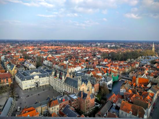 View from the top of Belfort Picture of Belfort Bruges TripAdvisor