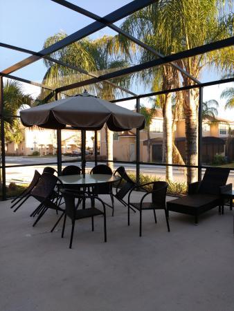 Regal Oaks   The Official CLC World Resort: Patio Con Jacuzzi Y Mesa De  Jardin