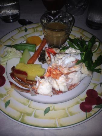 Boots Cuisine: Lobster entree