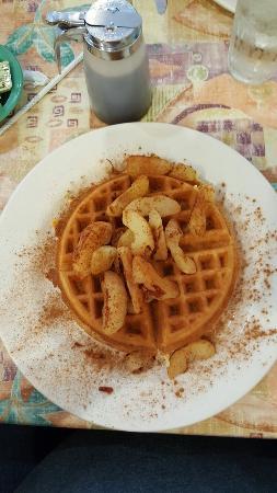 Parrish, FL: Apple cinnamon waffle