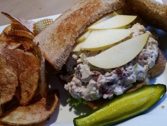 Vidalia: A better look at the Cranberry Chicken Salad Sandwich