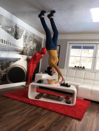 3 bild von haus steht kopf schwaz tripadvisor. Black Bedroom Furniture Sets. Home Design Ideas