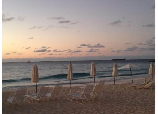 Carimar Beach Club: Sunrise from our Carimar patio