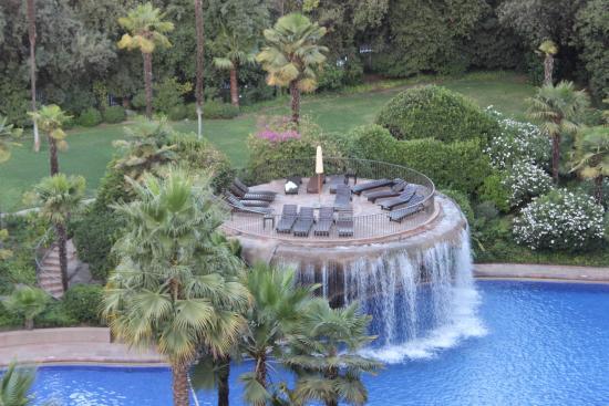 Grand Hyatt Santiago: piscine