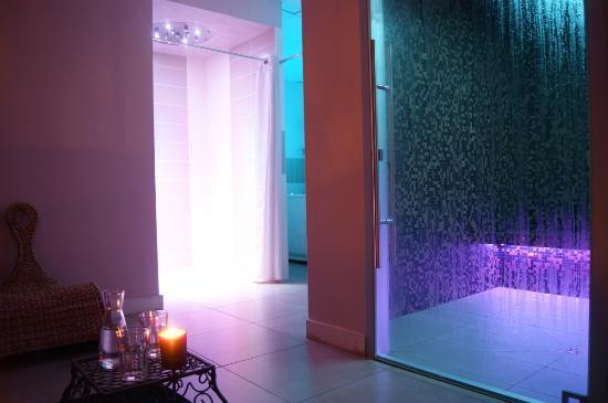 Plerin, Prancis: Espace aqua-sensoriel privatisé : hammam, douche à expériences et tisanerie