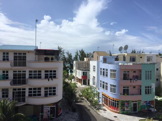 คาฟู อะทอล: Вид с крыши отеля