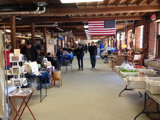 Inside the Saco River Market